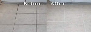 tile grout cleaning before after tile grout cleaning