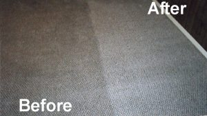 Clean Carpet vs Dirty Carpet