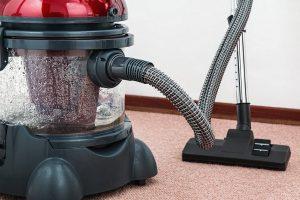 Vacuum carpet cleaning